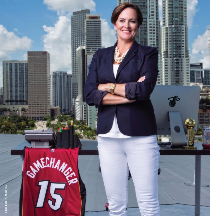 Kim Stone, The HEAT Group & American Airlines Arena