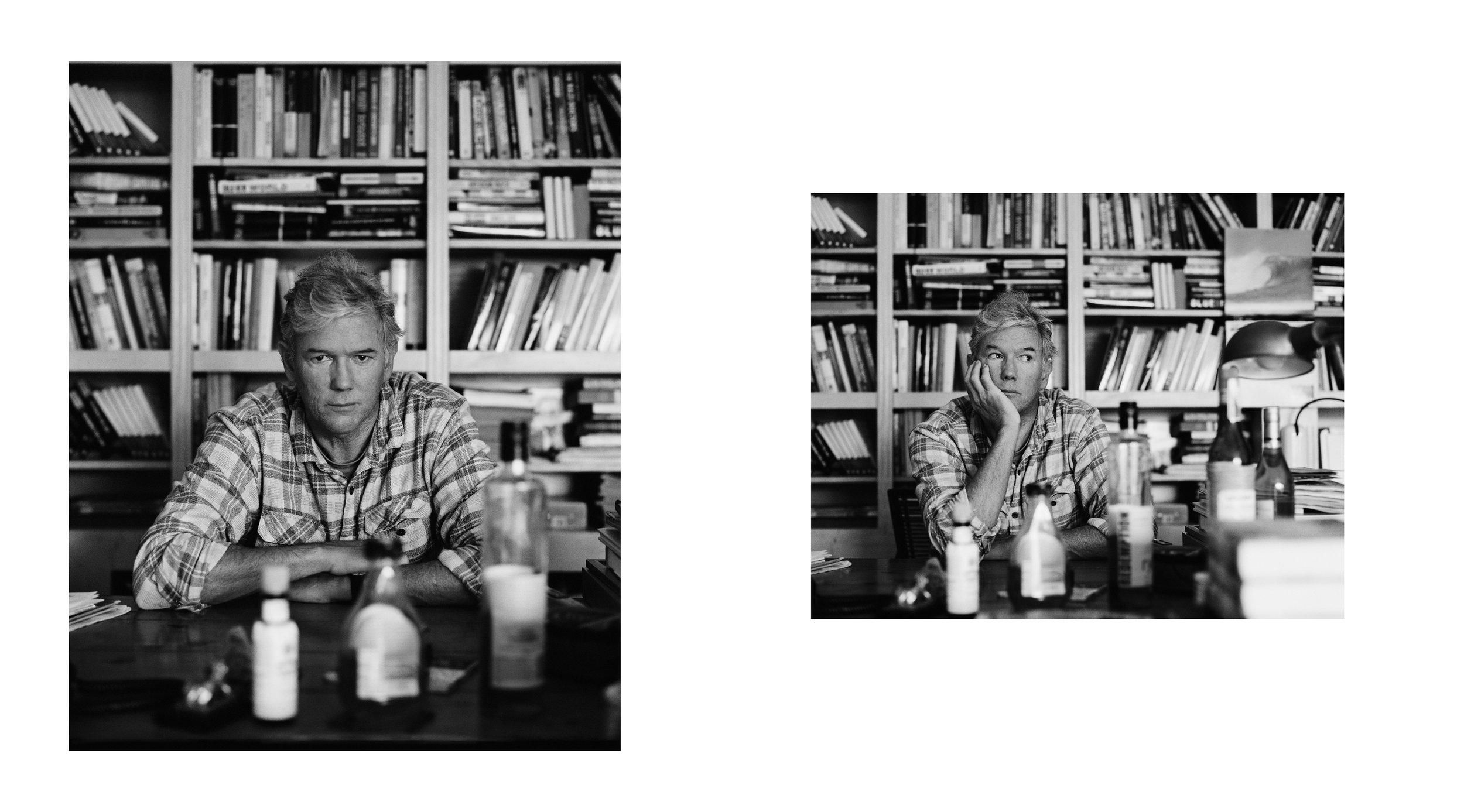 William Finnegan - Pulitzer Prize Winner Writer. New York.