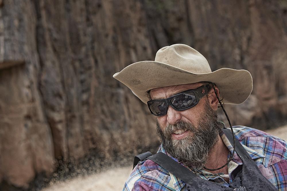 Blog Veteran Grand Canyon Boatman_Jay Healy motoring through the gorge.jpg
