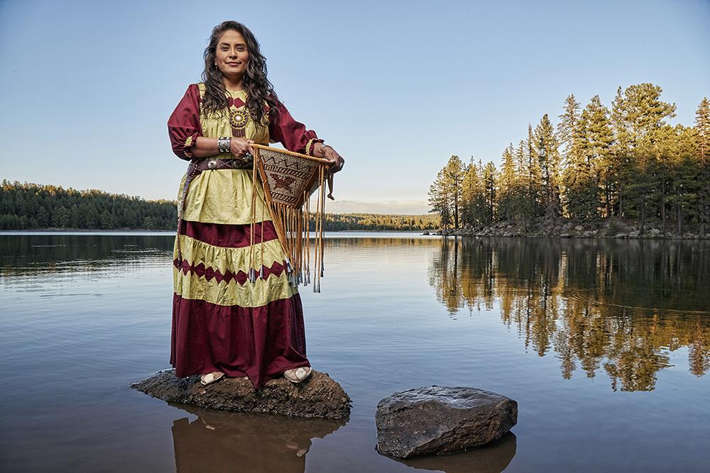 Blog WMAT Chairwoman_Gwendena Lee-Gatewood_Hawley Lake_White Mountain Apache Reservation, AZ_PHOTOGRAPH BY DAVID ZICKL_602.751.6333_P32A6473.jpg