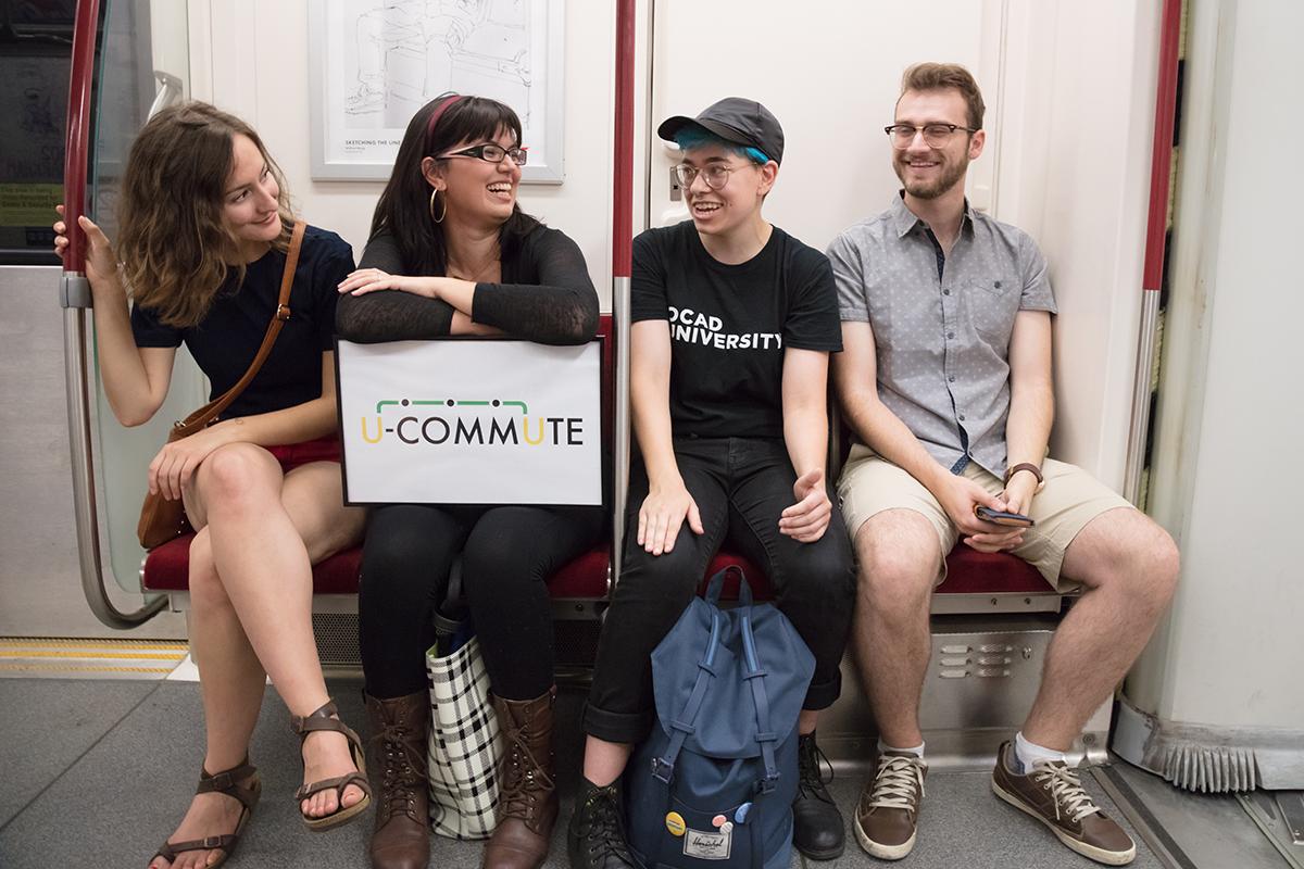 U Commute Crew | Photo credit: Student Association George Brown College