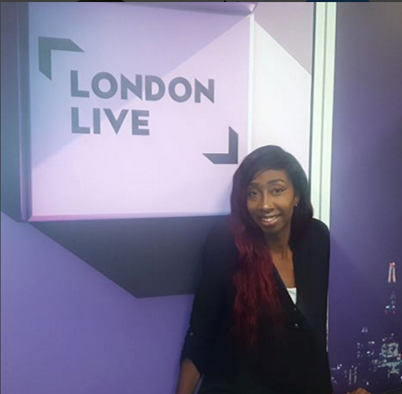 London Live - I was on the lunch time news program discussing my story with depression.