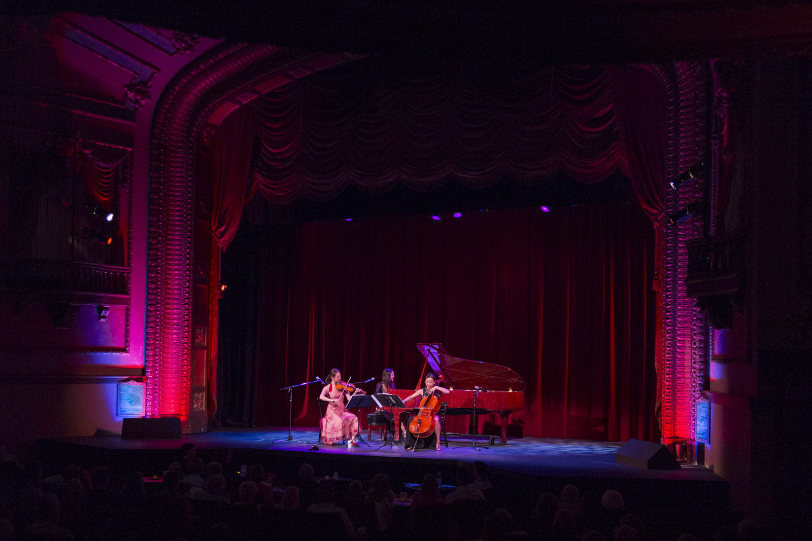 Ahn Trio's concert last week at the Ellen Theater in Bozeman, MT was so much fun! We will be back there in August!