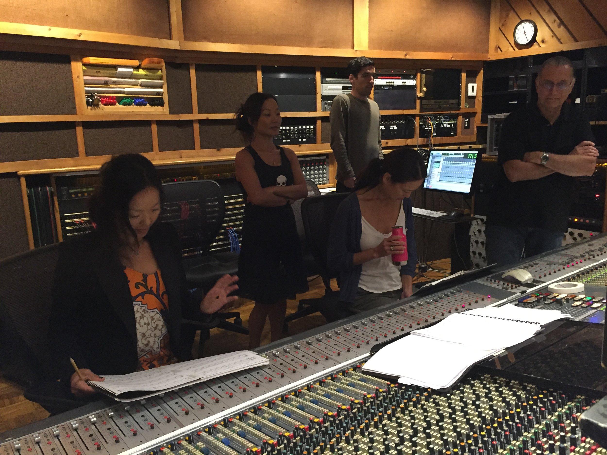 DAY 1 of RECORDING A NEW AHN ALBUM!!!!!!!!!!!!!Ahn Trio is recording a NEW AHN ALBUM!!!!!!WOW!!!!!!!!!!!!!!