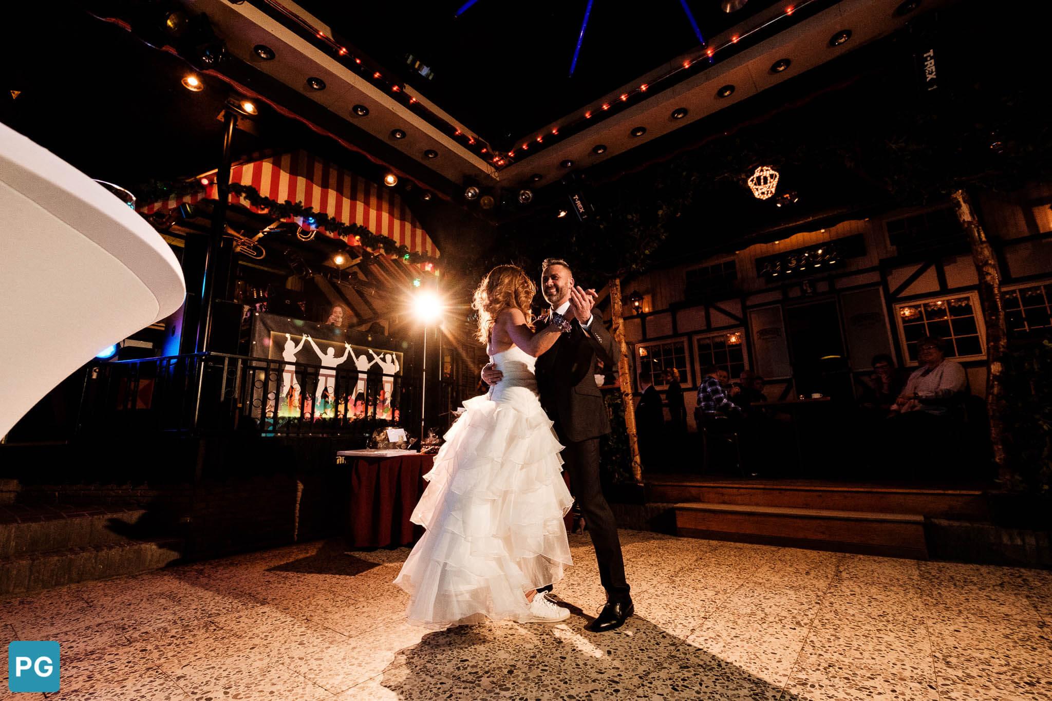 dans bruiloft