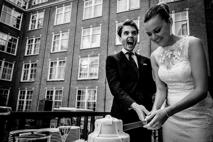 Bruidstaart The grand Amsterdam