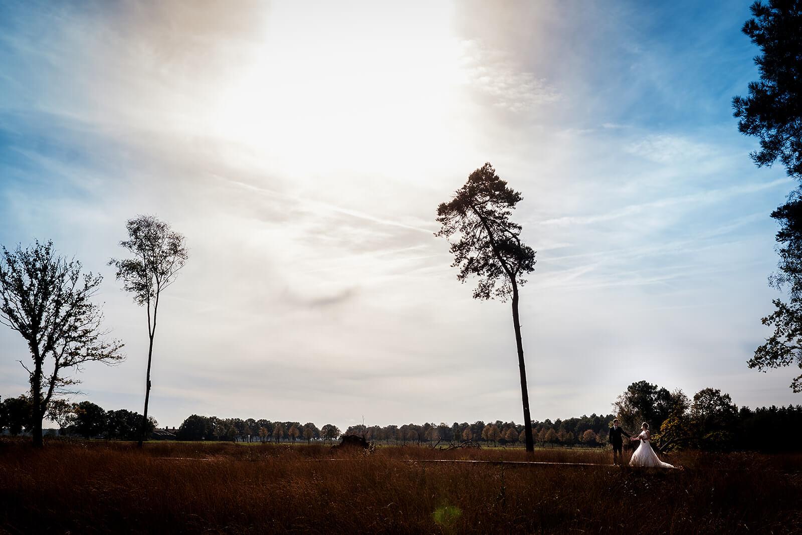 Bruidsfotoshoot in het Rozeven, Roosendaal