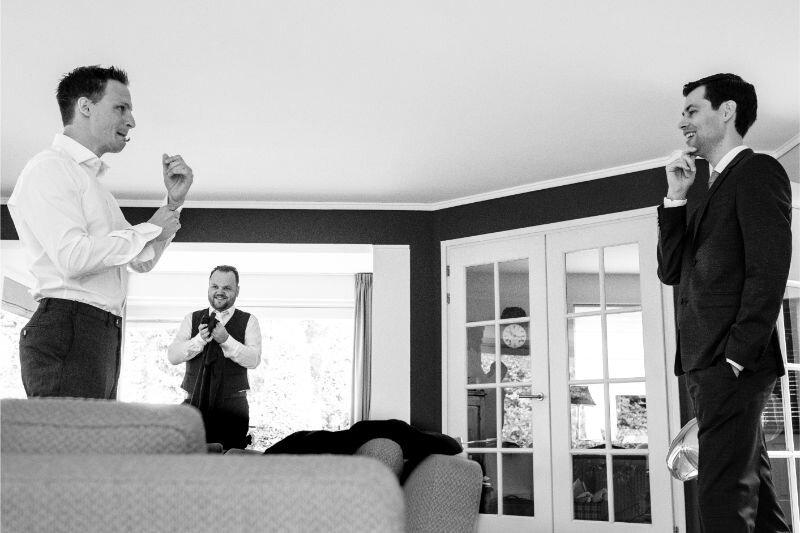 Voorbereidingen bij de bruidegom