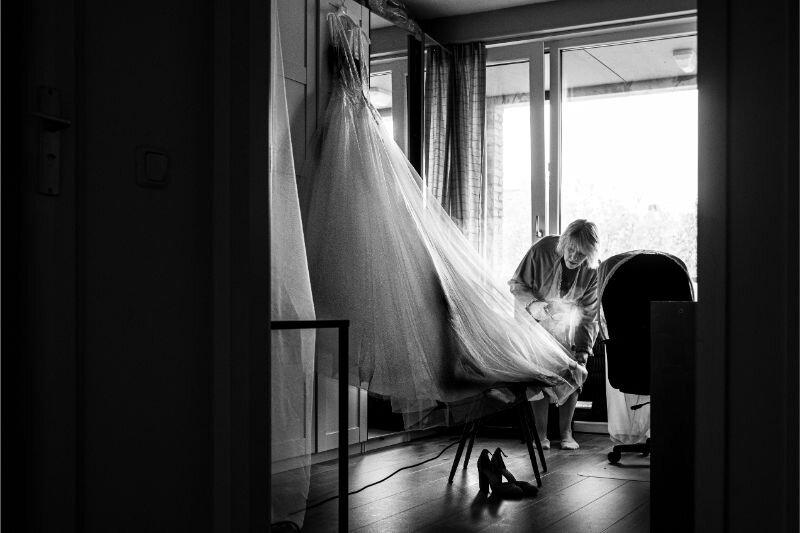 Voorbereidingen met de fotograaf: naakt of niet?