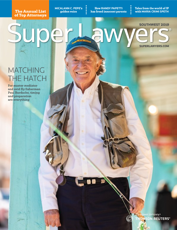 Super Lawyers - Southwest 2019 cover