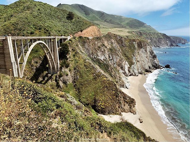 How did I not know places this magical in California existed?! We spent the last week on a road trip up the coast to Big Sur to celebrate the Fourth of July.   The water was crystal clear and bright blue, the air was crisp and smelled like cypress and pine trees, and the scenery was unlike anything I have ever seen.   It was so nice to unplug for a week and enjoy being outdoors. Have you ever been up the California coast? If so, what was your favorite stop? 🌲 . . . . . #flashesofdelight #mytinyatlas  #mycityloves #simplyadventure  #travelgirlsgo #bixbybridge #allwhatsbeautiful #vscoedit  #thehappynow #weekendgetaway #darlingmovement #wonderful_places  #postcardplaces #californication  #Bigsurcamping #lifestyle #girlslovetravel #discoverunder100k #pursuepretty #igtravel  #wandermore #goodday #travelgram #prettylittletrips  #fromwhereistand #TLpicks #passionpassport #bestintravel  #sodomino #etsorganizing