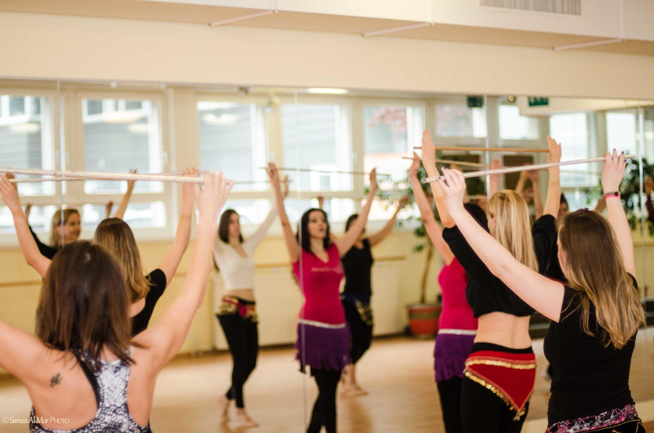 Class with Lhamo, ZeoT Zurich studio. Photo: Sanaa al Mor