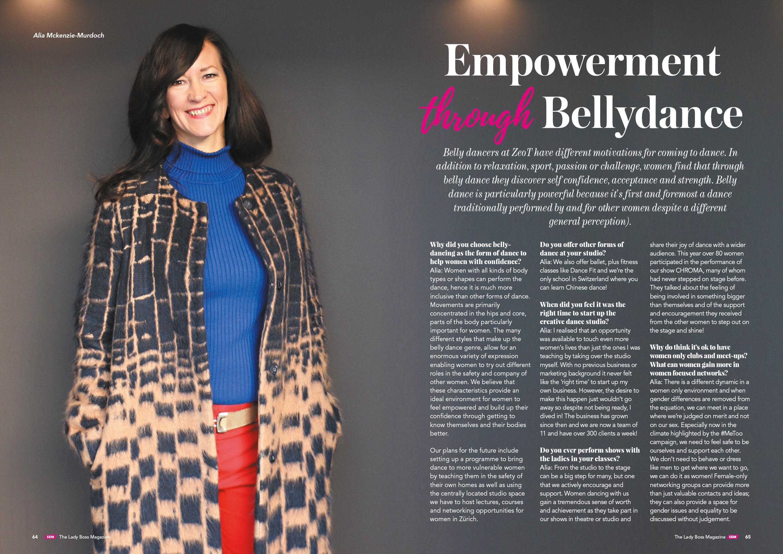 The Lady Boss Magazine // 2018