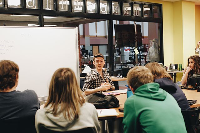 "I've been in a public Highschool building less times than I can count on a single hand, but 90% of the time I step foot in one it's because I've been given the opportunity to mentor others and share my experience and the lessons I've learned as an entrepreneur. • Example, pictured above: when I was at the Noblesville Highschool ""innovations class"" hosted by Don Wettrick. A nationally recognized student body that has seen coverage across the Internet. Dons podcast has hosted major thought leaders like Seth Goden, Gary Vaynerchuck, and tons more. • I was schooled in my bedroom, by myself. YouTube, Google, and some good books. Had my first $10k profit month at 17 with two business, and still had time to love on my family throughout a recent house fire. College isn't on the horizon for me at this time. (Unless it's Harvard. They're tight. They love young biz owners, too.) We have access to every bit of information you could ever need, completely online. I'm a Highschool dropout by every definition, and yet I'm out here creating income through online business, serving others through constantly bringing value and sharing the wisdom my mentors and my experience have brought me, being asked to speak at events, and leading my peers to live intentional lives. God is too good to me, man. • Don't let the world tell you what you are and are not capable of. Let God do His thing, trust in your mentors and your experience based wisdom, you're capable of some insane stuff. Adolescence is a myth. Don't kick your feet up just because ""that's what teens do"", live with intention and start building stuff ASAP. • Comment ""learn"" letter by letter and I'll DM you, lets talk about where you're at in your journey."