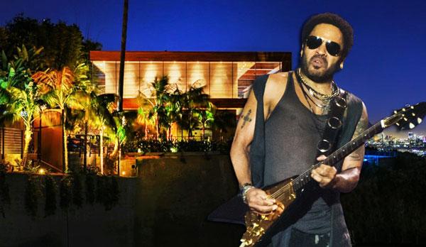 The Real Deal - Lenny Kravitz-designed Hollywood Hills mansion listed for $38M