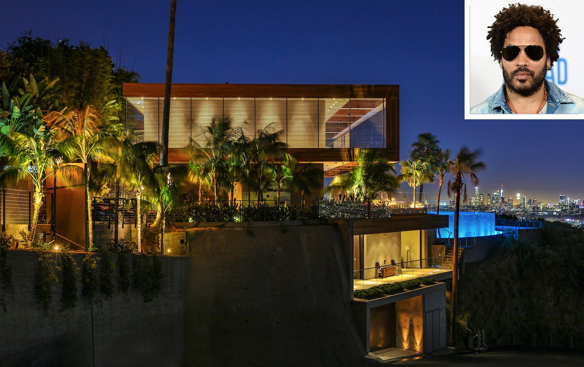 People - Lenny Kravitz Just Designed the Most Amazing House in Los Angeles