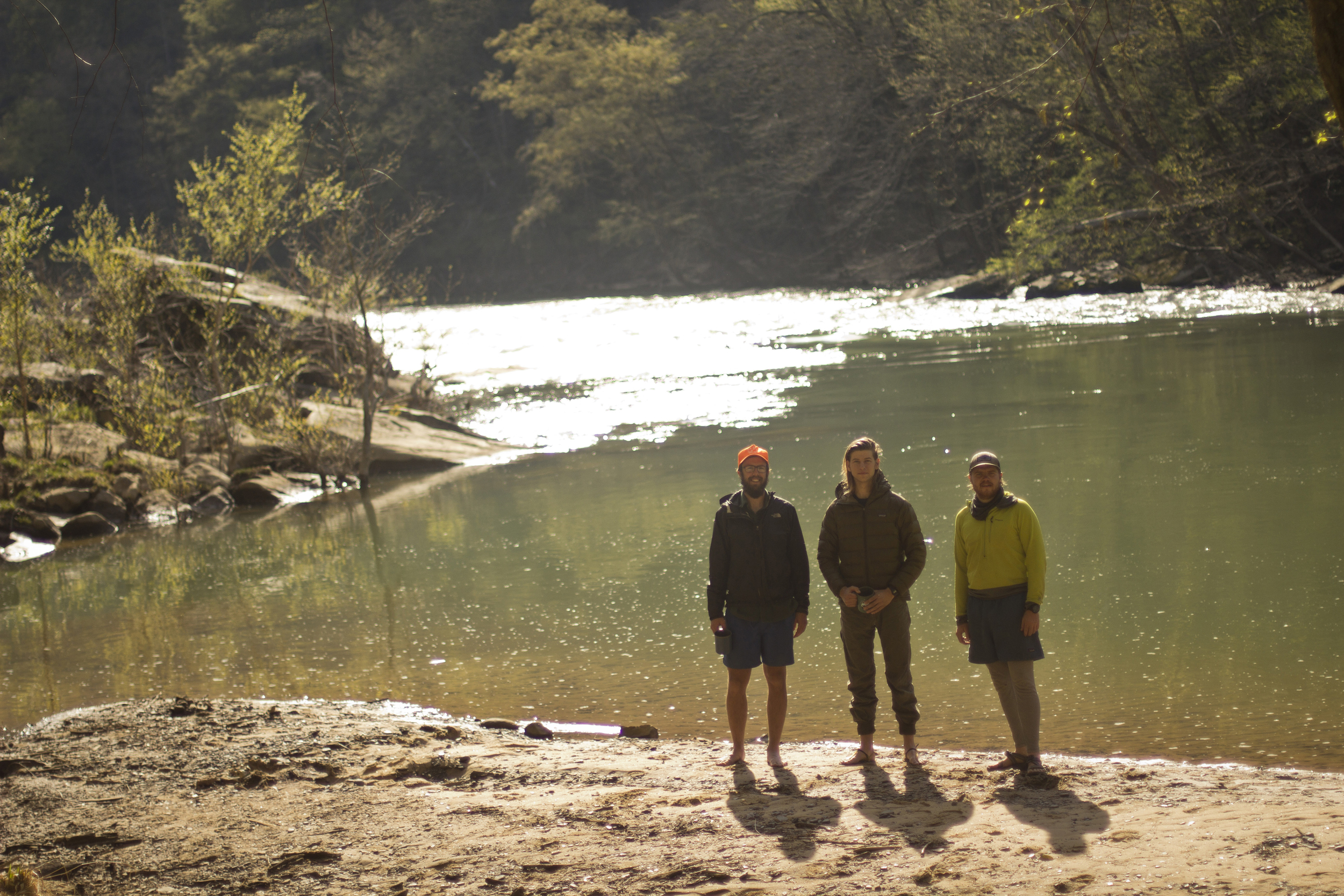 Over the Easter Holiday a few pals and I took off to paddle a 32 mile stretch of the Big South Fork which flows north from Tennessee to Kentucky. We didn't really know what we were getting into which seemed innocent enough at the time. Our stoke certainly outweighed our concerns.