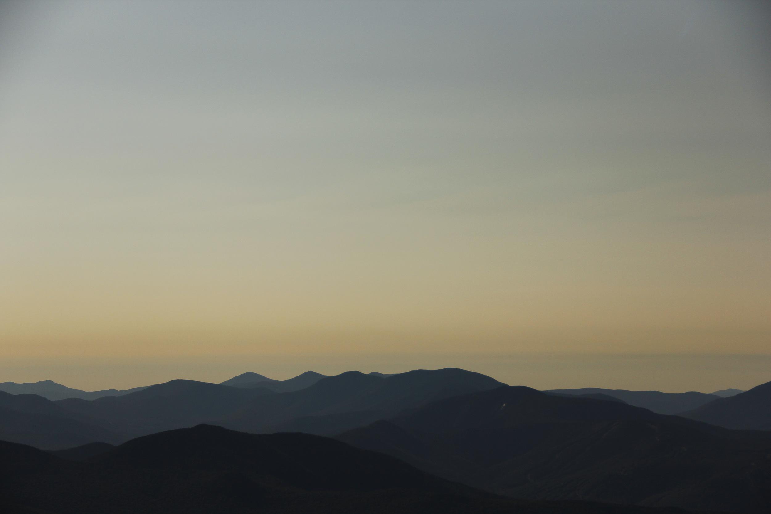 Plain old beautiful mountains.