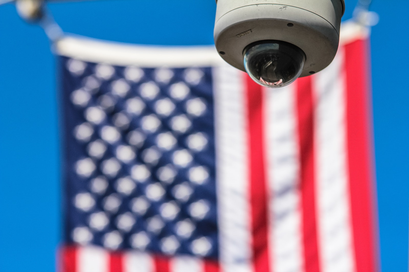 American Flag - Crimes on Camera - Under Arrest and Under Surveillance |The Law Offices of Bryan R. Kazarian - Los Angeles County Criminal Defense Attorneys - property, juvenile, petty theft, DUI, misdemeanor, and felony Criminal Law