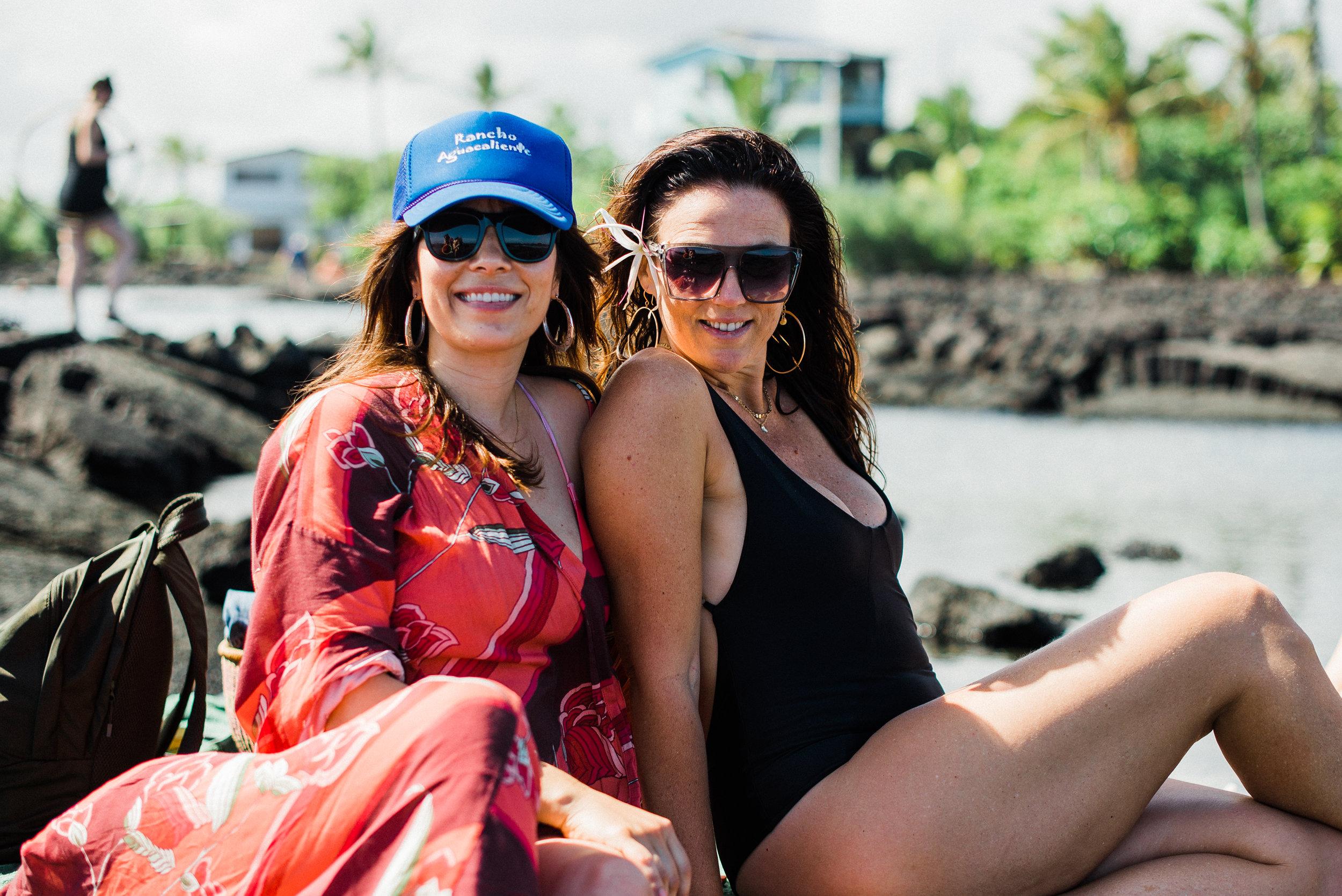 Caroline Cardenas and Tulasi Adeva