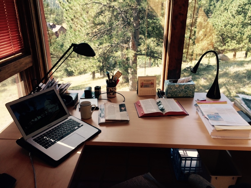 Writing space…