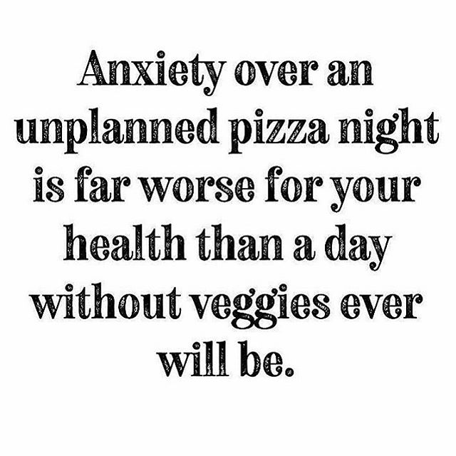 "I once had a seriously poor relationship with food 🍕🍟 🤷‍♀️ . I literally feared anything that contained gluten, dairy and/or sugar. I knew the research, had listened to all the top experts and trusted the words of my colleagues when they said all these foods cause inflammation. . I avoided them completely and told my family and friends it was for health reasons, but to be honest, I was afraid that I would cause harm to my body or worse gain weight. . But here's my reality and my thoughts, it made it difficult to enjoy my life when I was always thinking about what I could and ""could not"" eat. . I began creating these arbitrary rules in my head instead of ACTUALLY enjoying my food. .  When you go out to the most incredible restaurant and you see SO many great things on the menu that sound like something you want, but then resentfully order the salad instead bc that's what's ""healthy"" or ""what your nutritionist said to get"" or ""it's Keto"" ""it's paleo"" that just kind of sucks..well to me at least. . It's one thing if cutting out some inflammatory foods has really transformed your life and you have a health condition that has improved as a result, but for me, it was the stress and anxiety around eating that was creating more ramifications in my body than me actually eating the food. . I had a poor relationship with food and my body and I needed to do that work for myself before I could say it was fair for me to totally write off food groups. . Granted, sandwiches and pizza are definitely not my go-to indulgent food of choice but nachos are and French fries are and a reallly mouth watering dessert is 😛 I don't have them often but when I do, they're well worth it! . Those foods make me happy and so does being with friends, sharing new experiences and creating memories..and I don't know about you, but for me that often involves food 😍 . So this weekend, if you question whether or not you're ""supposed"" to or ""allowed"" to eat something, ask yourself if you want it. And if the answer is yes, then ENJOY ❤️ Happy Friday, y'all!! . Repost: @katiegarces Original post: @eatingsimplified  thank you both for posting this and reminding me it's okay to indulge!"