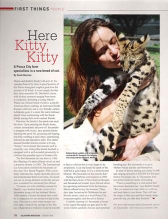 Oklahoma Magazine Aug. 2010