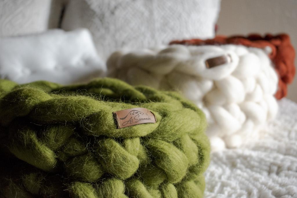 Merino Wool Cat Beds