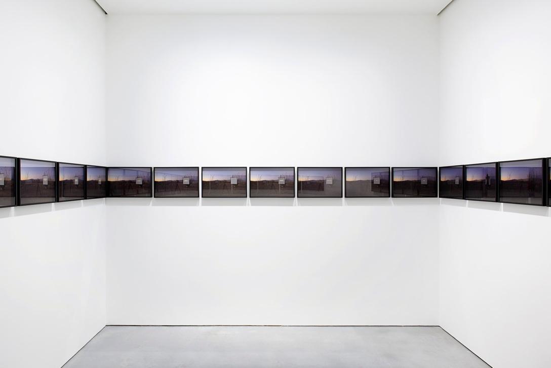 "proximity of longing, 2013  27 archival pigment prints, 46cm x 30.5cm / 18"" x 12"""