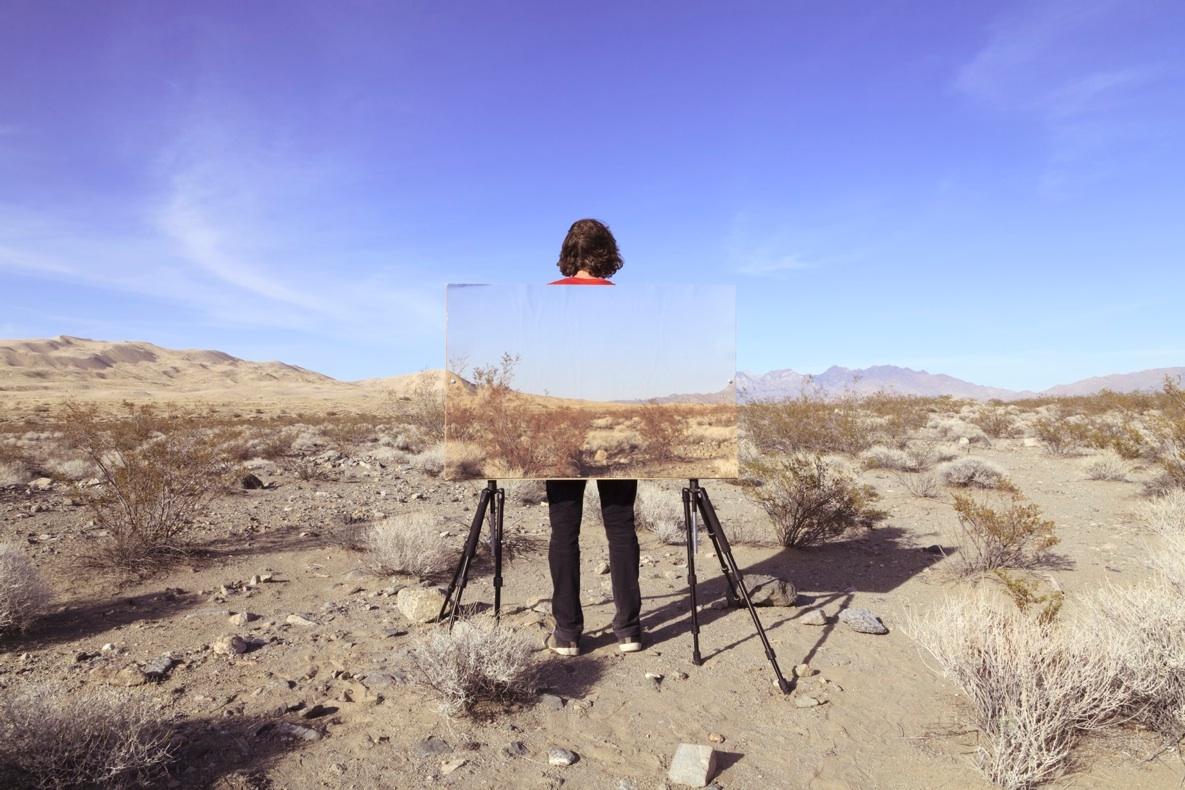 """us through this (dunes), 2013  archival pigment print,165cm x 110cm / 65"""" x 43"""""""