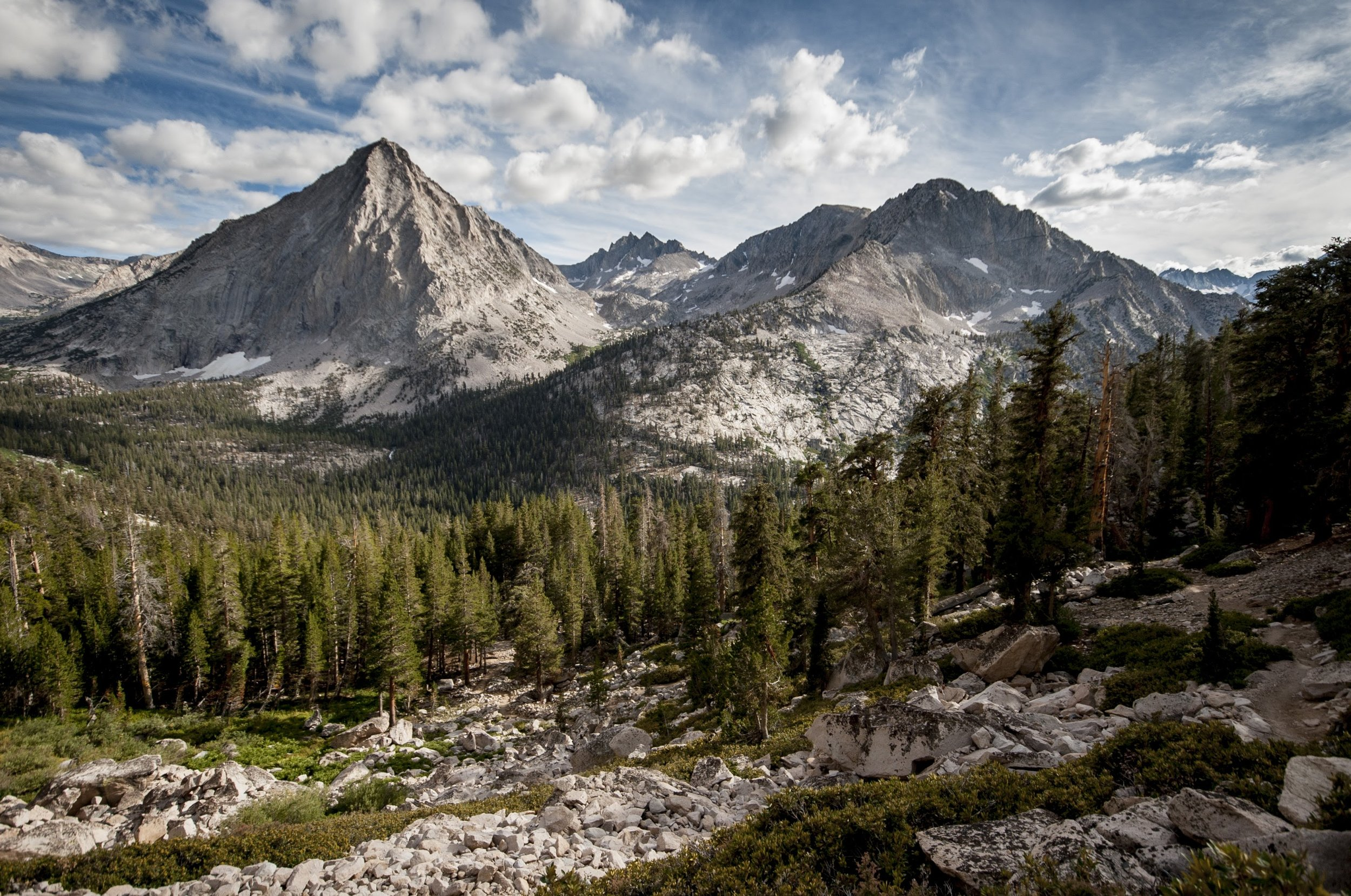 The Eastern Sierra.