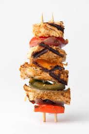 Grilled Beyond Meat Skewers