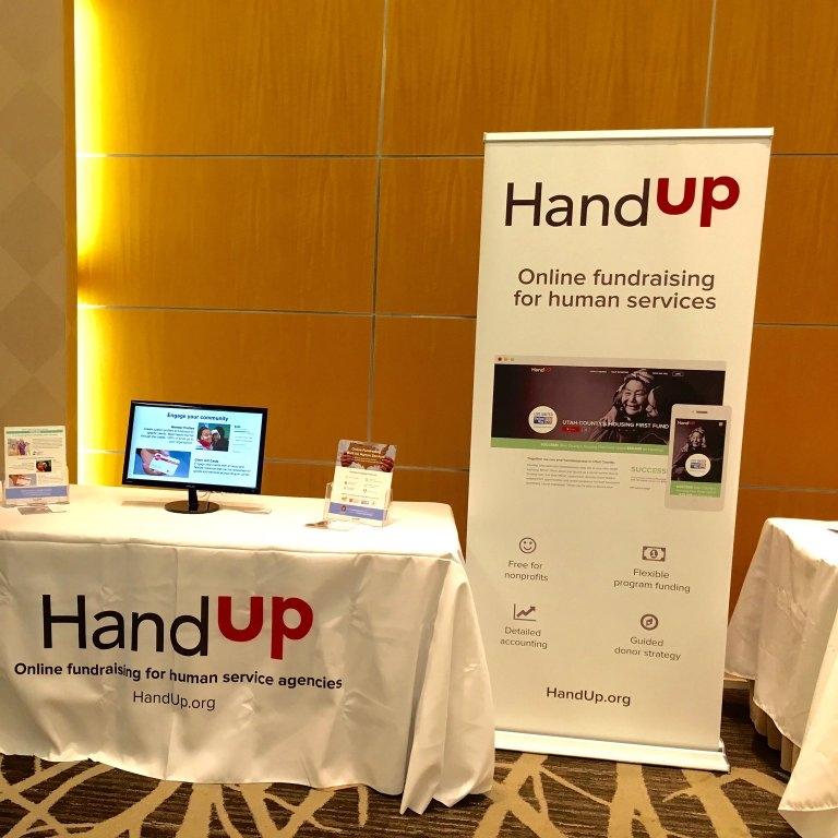 HandUp Conference Banner (& smaller print media)