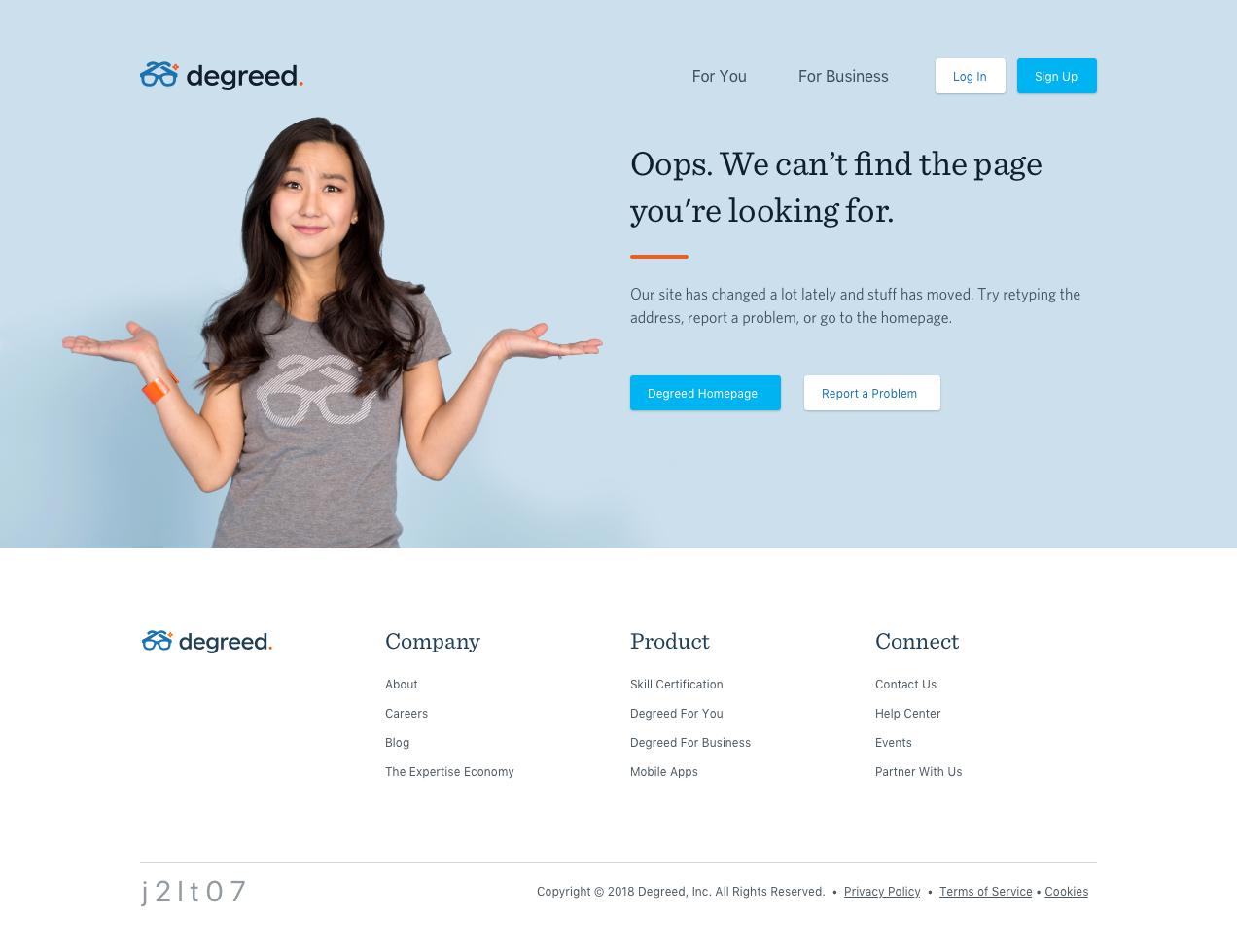 404/500 Error Page
