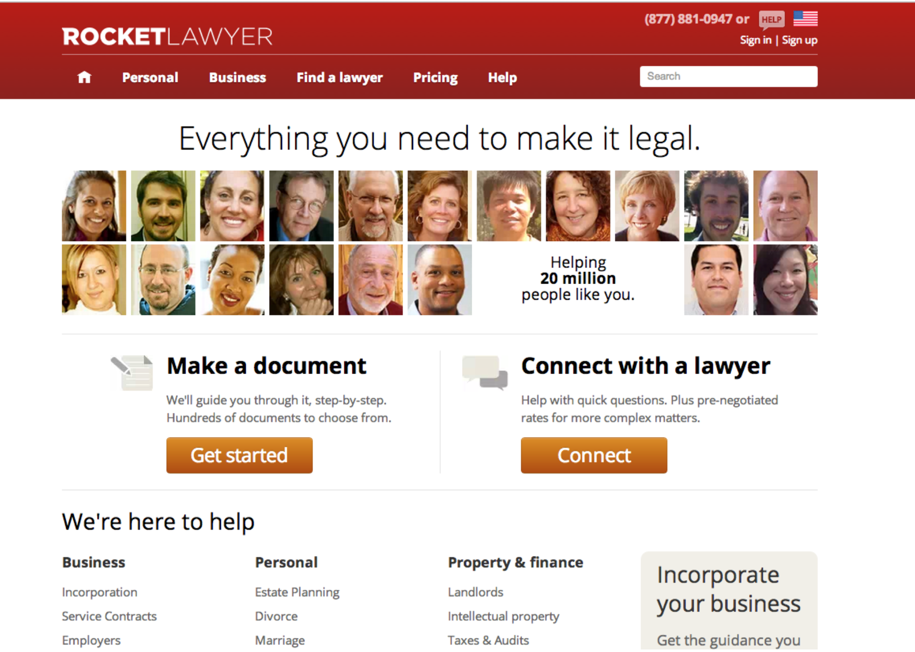Rocket Lawyer Brand Refresh