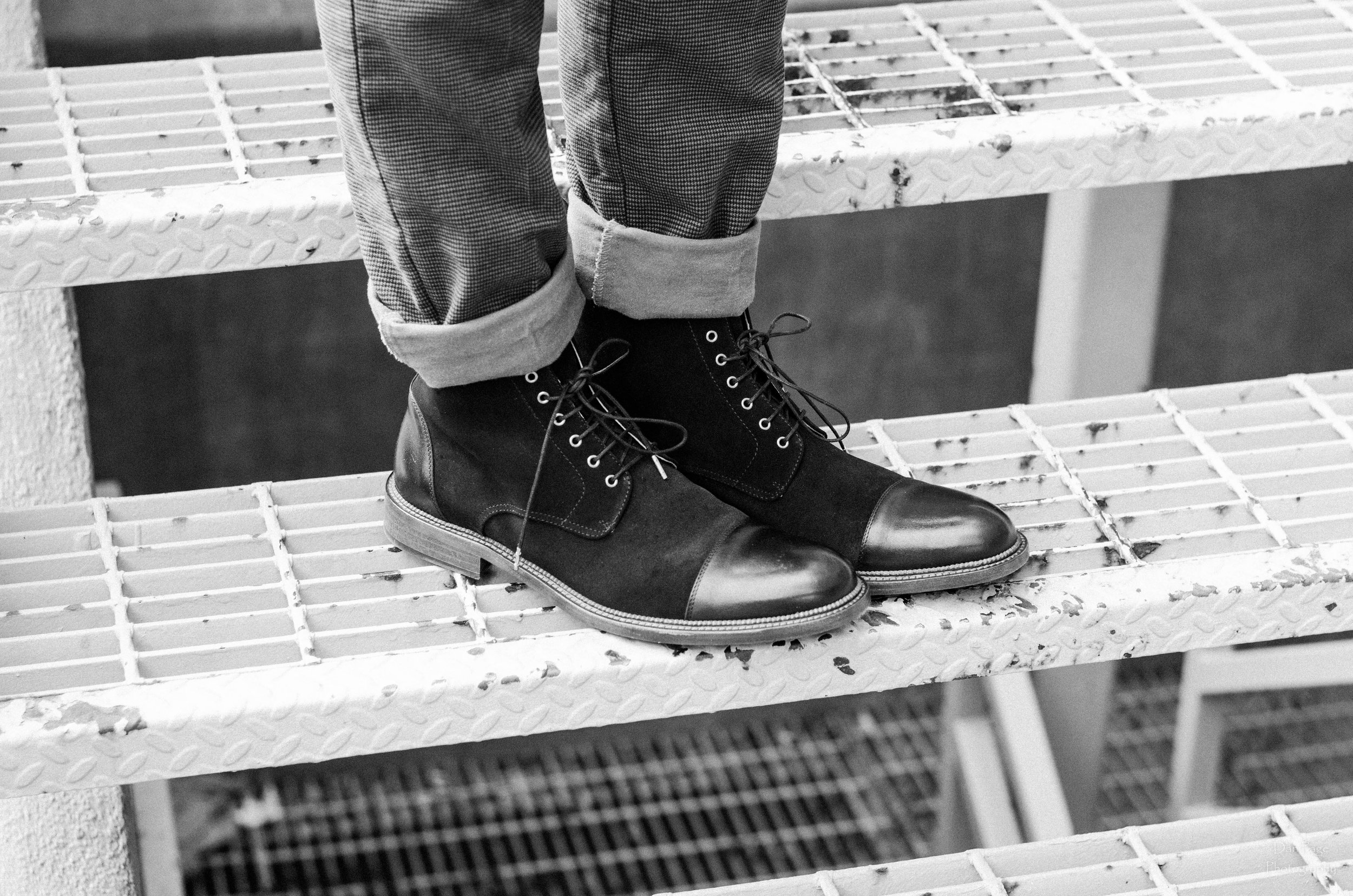 Dan Page Photography, Taft Shoes, Product Photography