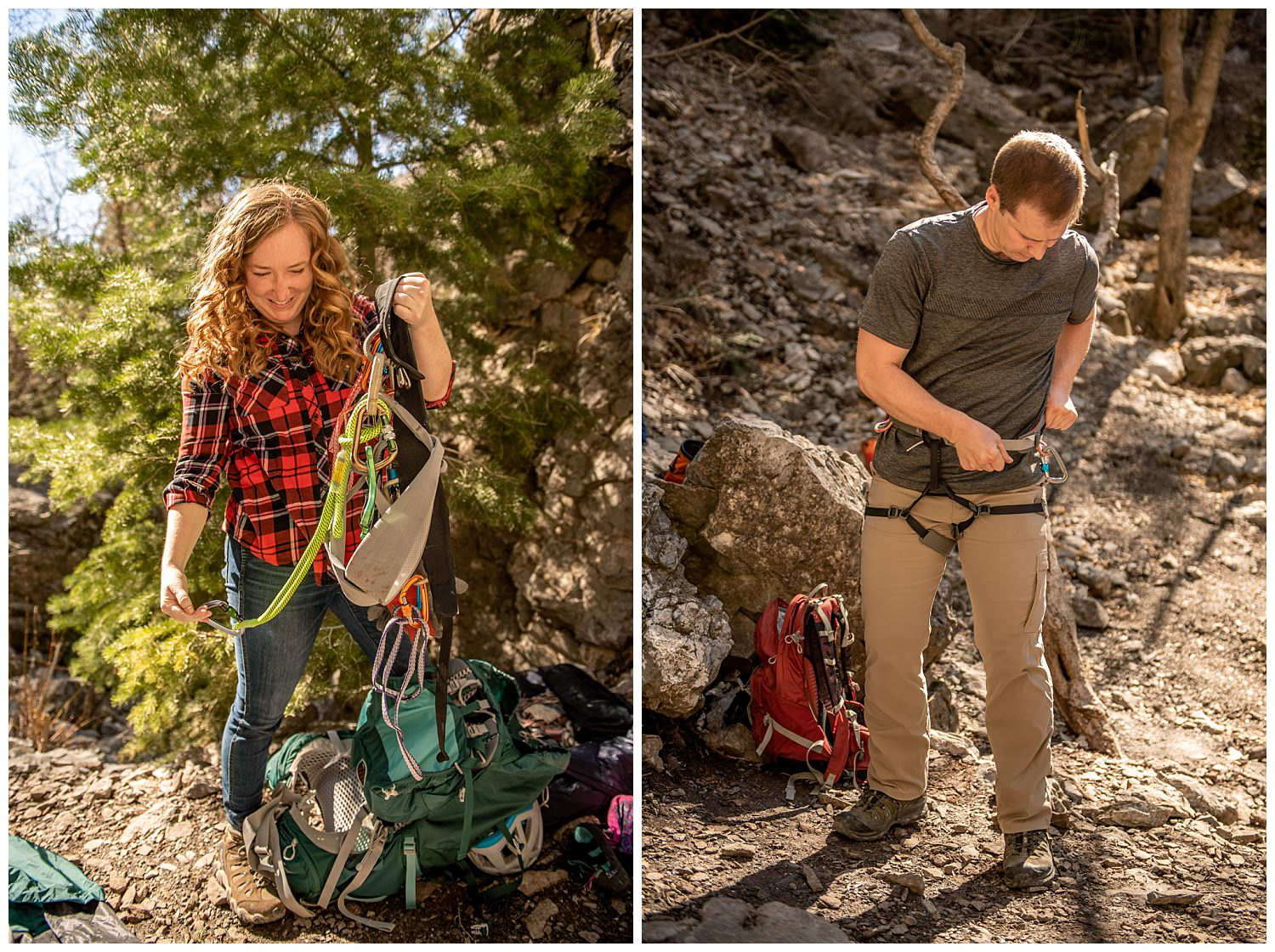 Dan Page Photography, Rock Climbing Engagement Adventure Session, Rock Canyon, Provo (1).jpg