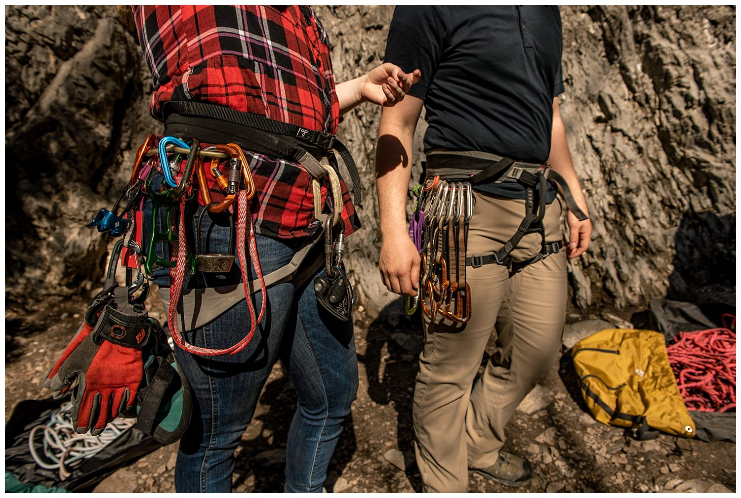 Dan Page Photography, Rock Climbing Engagement Adventure Session, Rock Canyon, Provo (4).jpg