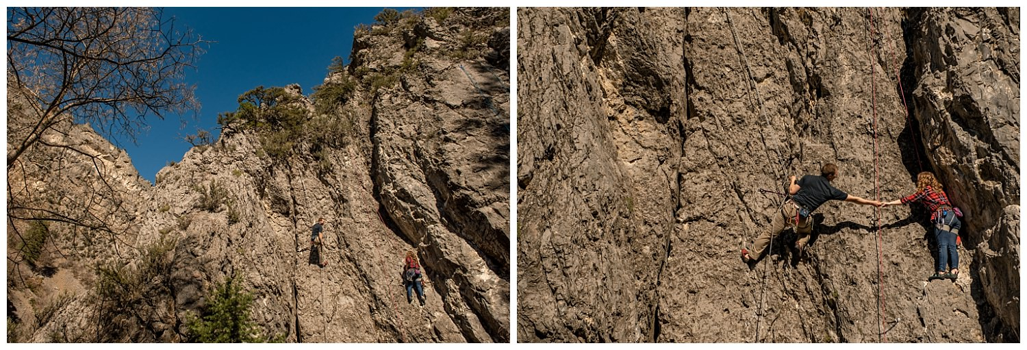 Dan Page Photography, Rock Climbing Engagement Adventure Session, Rock Canyon, Provo (6).jpg