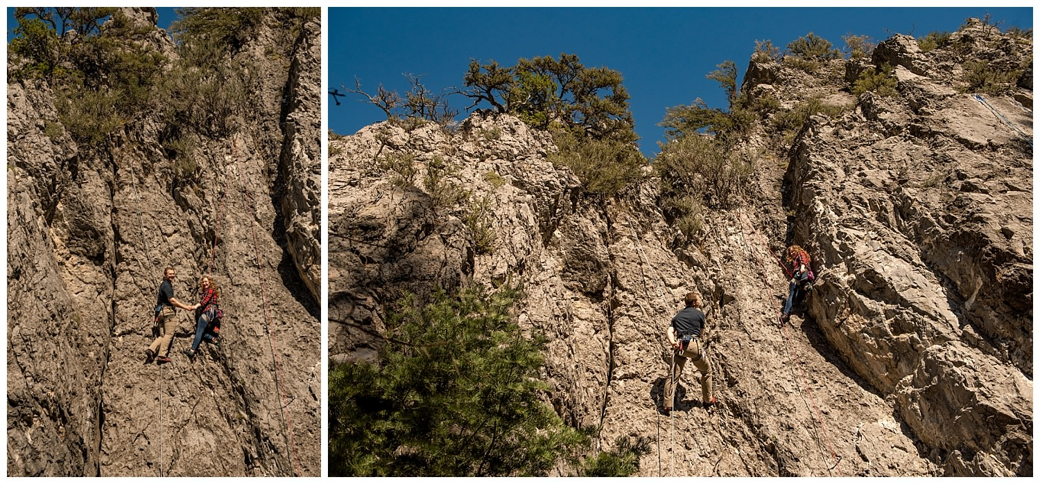 Dan Page Photography, Rock Climbing Engagement Adventure Session, Rock Canyon, Provo (8).jpg