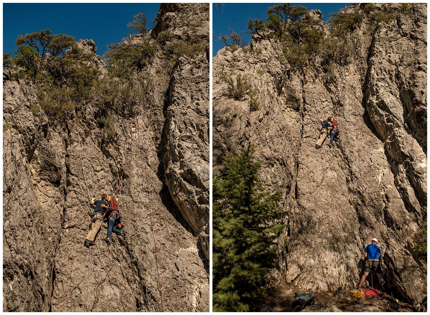 Dan Page Photography, Rock Climbing Engagement Adventure Session, Rock Canyon, Provo (7).jpg