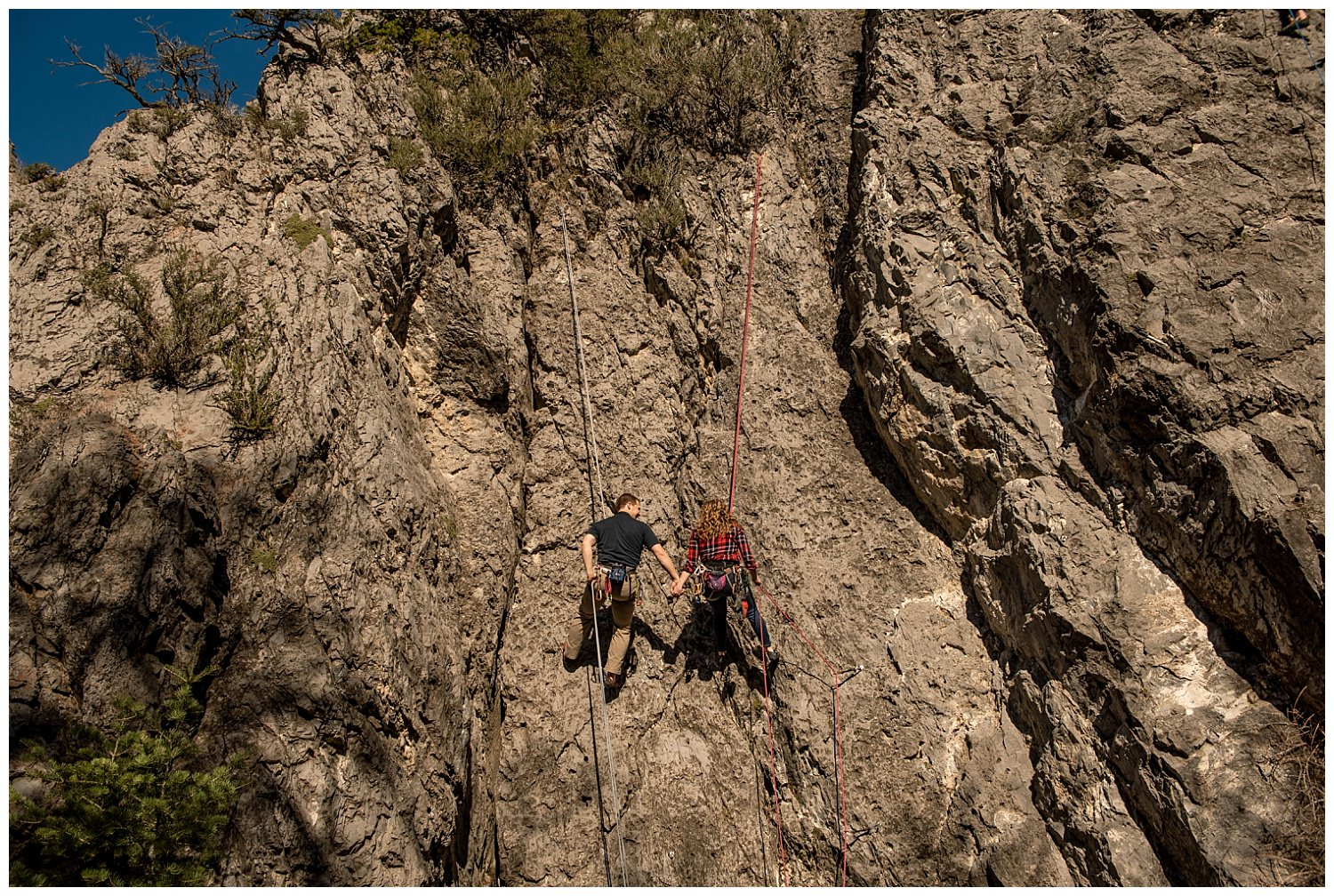 Dan Page Photography, Rock Climbing Engagement Adventure Session, Rock Canyon, Provo (9).jpg