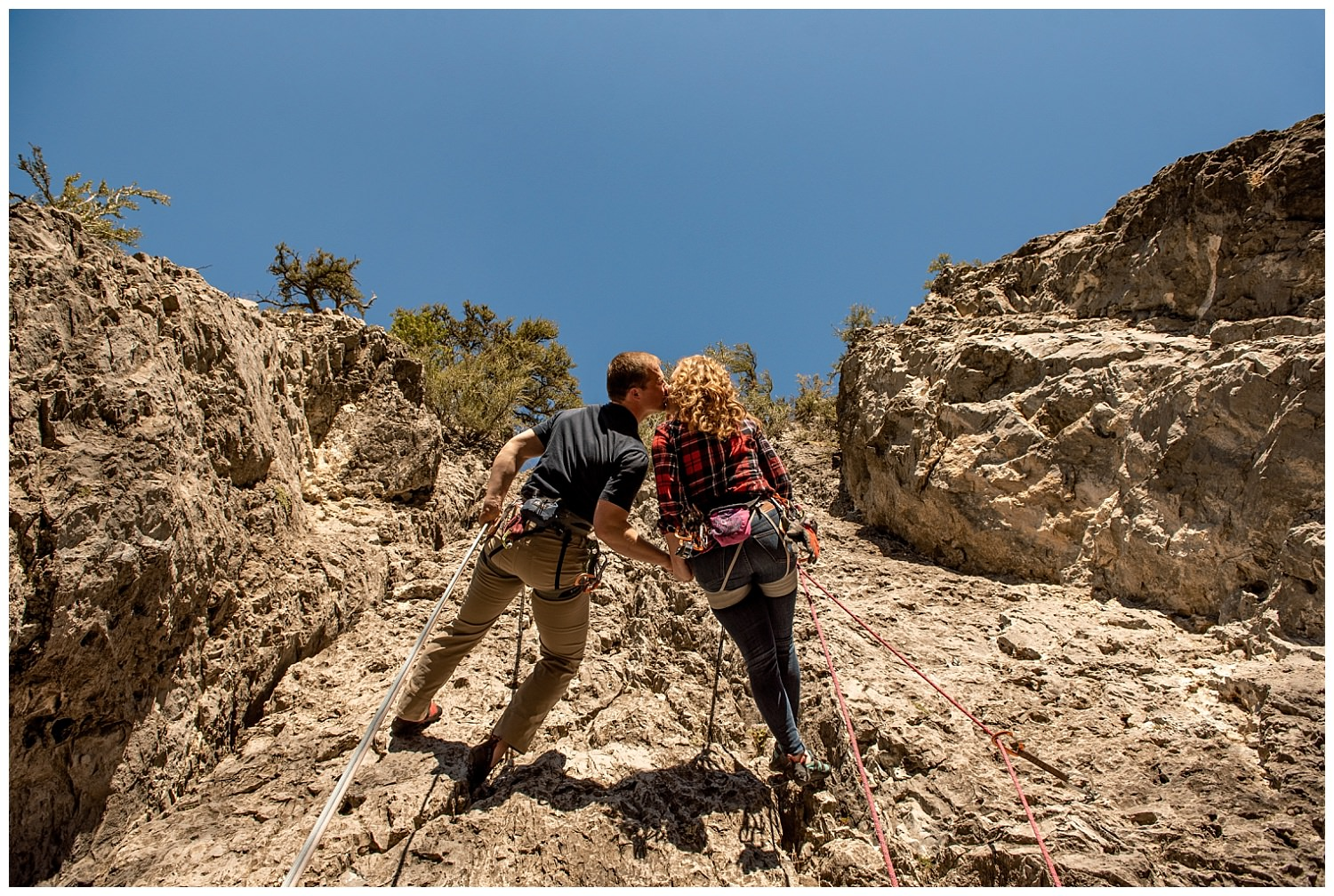 Dan Page Photography, Rock Climbing Engagement Adventure Session, Rock Canyon, Provo (11).jpg