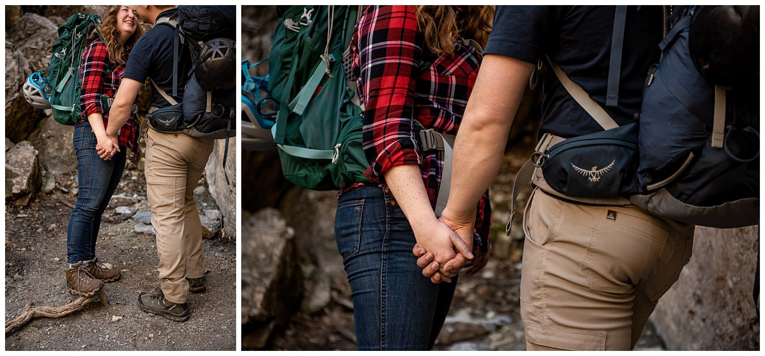 Dan Page Photography, Rock Climbing Engagement Adventure Session, Rock Canyon, Provo (15).jpg