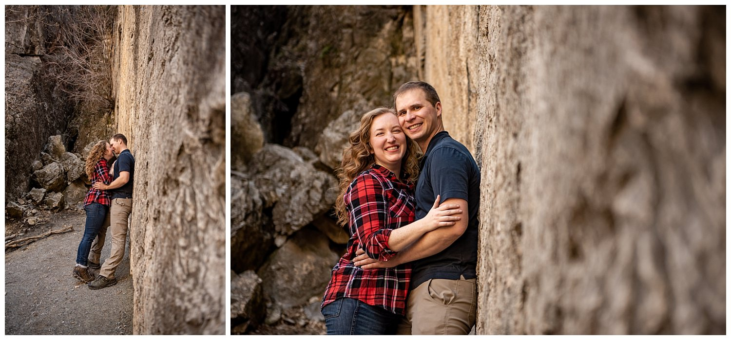 Dan Page Photography, Rock Climbing Engagement Adventure Session, Rock Canyon, Provo (16).jpg