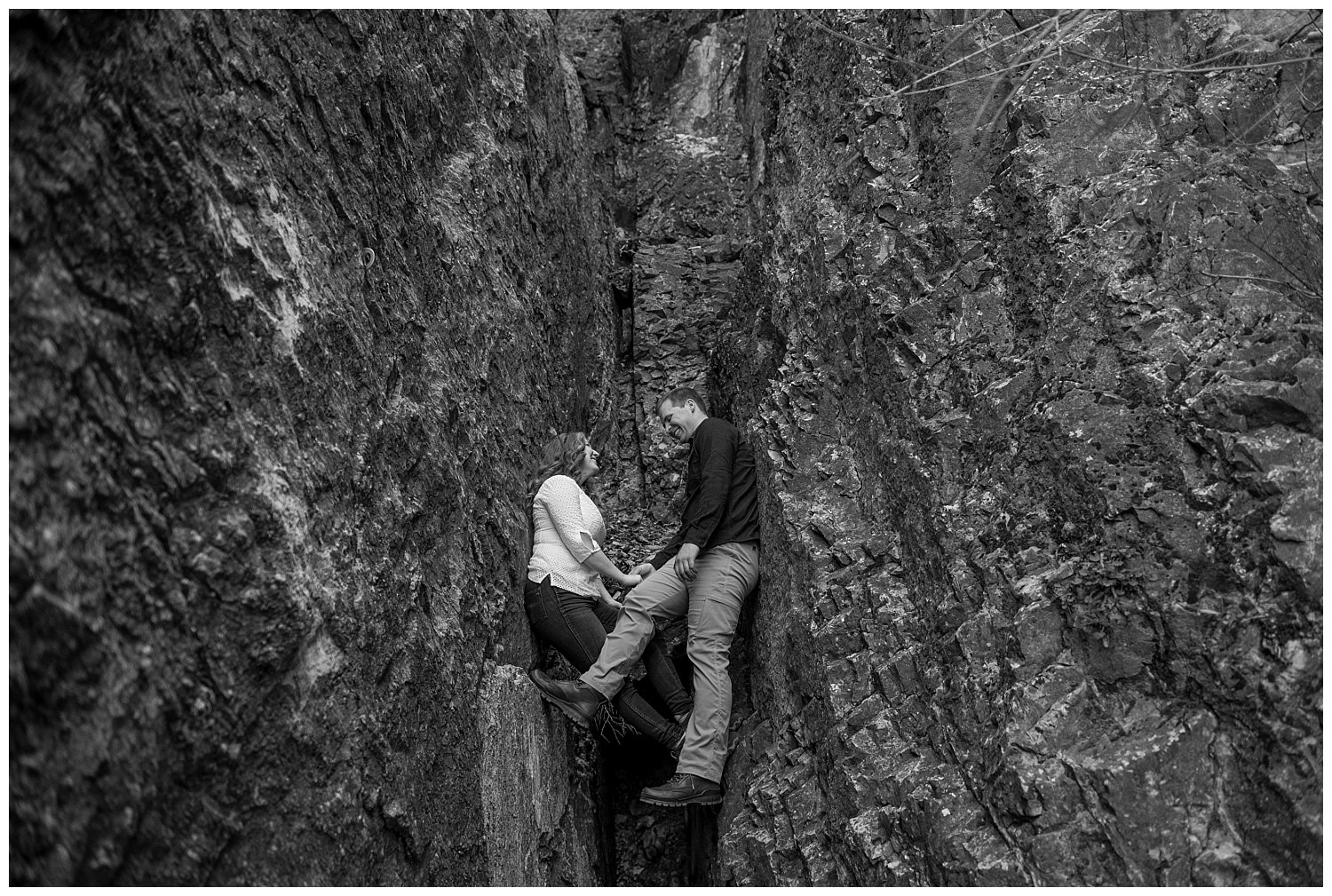Dan Page Photography, Rock Climbing Engagement Adventure Session, Rock Canyon, Provo (17).jpg