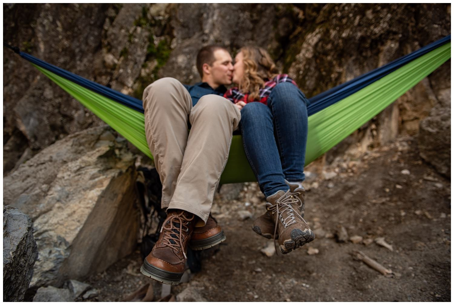 Dan Page Photography, Rock Climbing Engagement Adventure Session, Rock Canyon, Provo (21).jpg