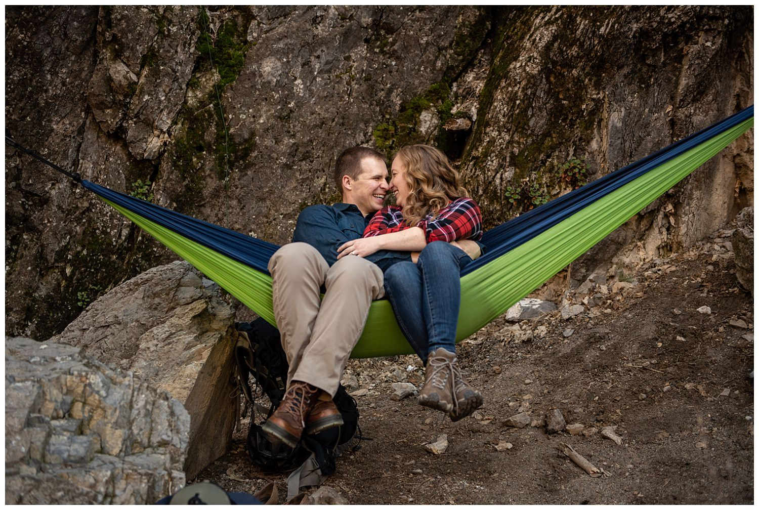 Dan Page Photography, Rock Climbing Engagement Adventure Session, Rock Canyon, Provo (22).jpg