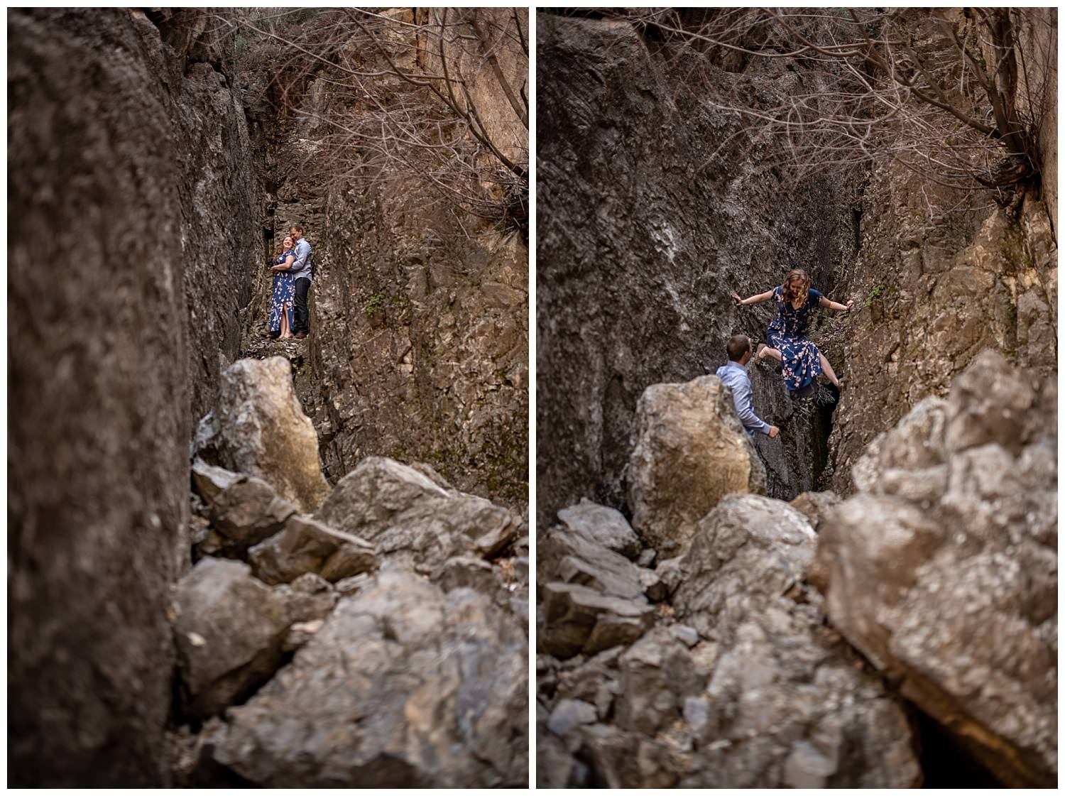Dan Page Photography, Rock Climbing Engagement Adventure Session, Rock Canyon, Provo (26).jpg