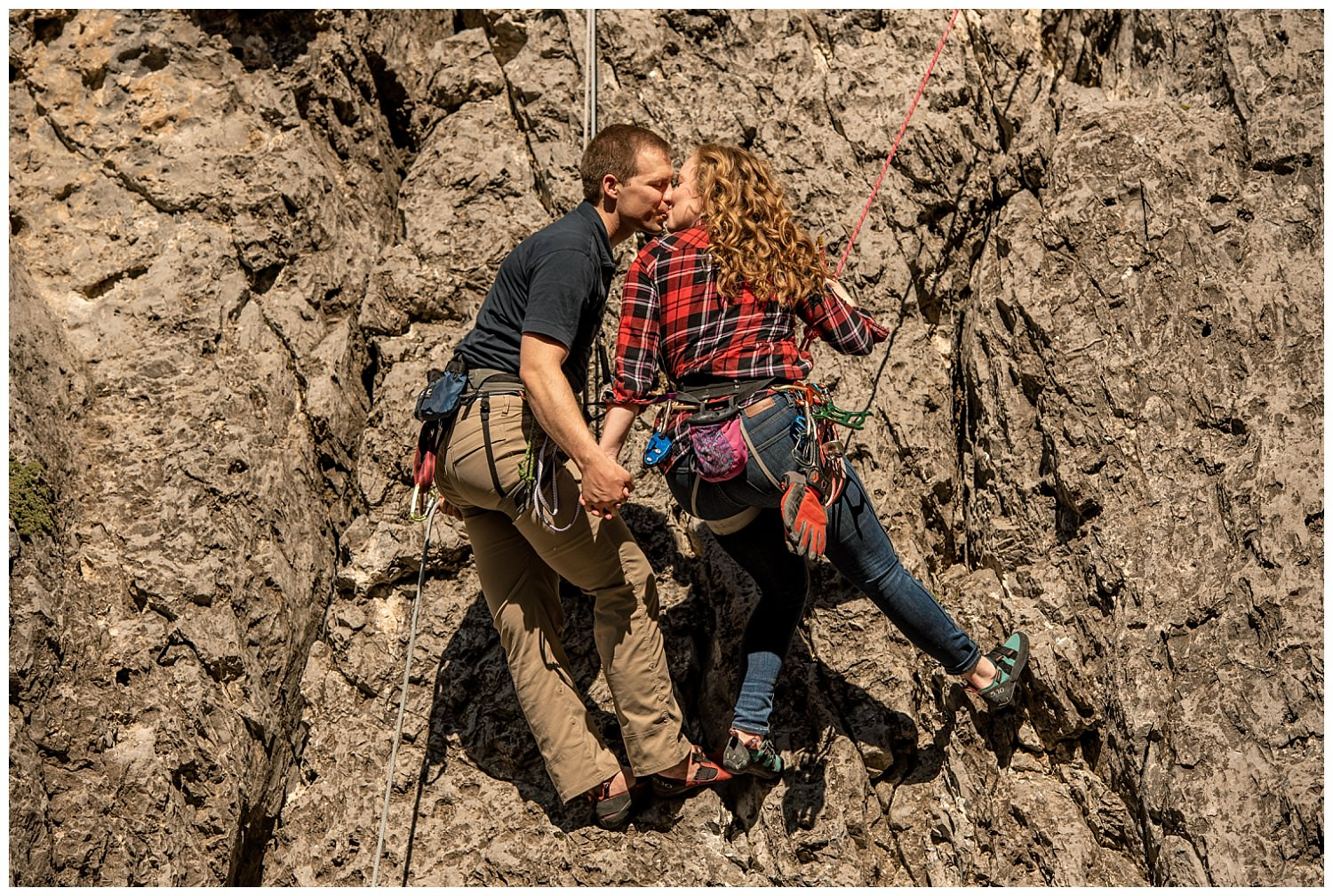 Dan Page Photography, Rock Climbing Engagement Adventure Session, Rock Canyon, Provo (27).jpg